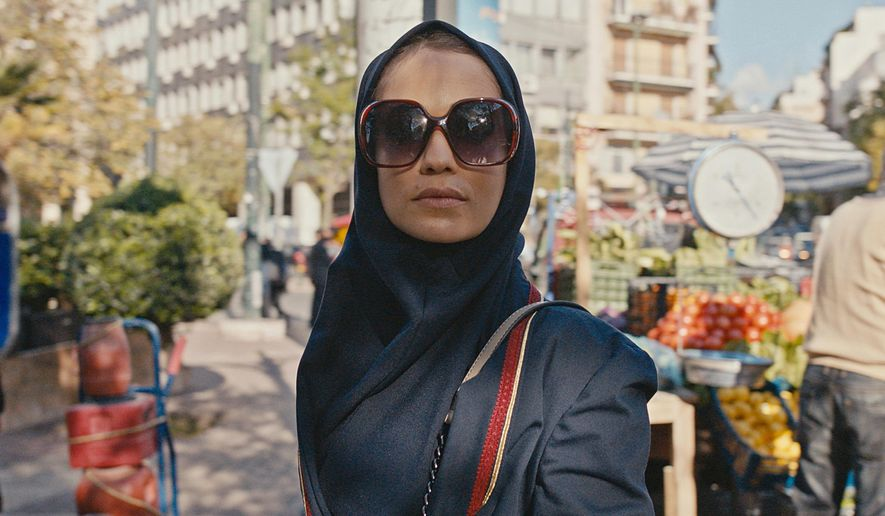"This image released by Apple TV+ shows Niv Sultan as Tamar Rabinyan in a scene from ""Tehran."" (Apple TV+ via AP)"
