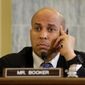 Sen. Cory Booker, New Jersey Democrat. (Associated Press) ** FILE **