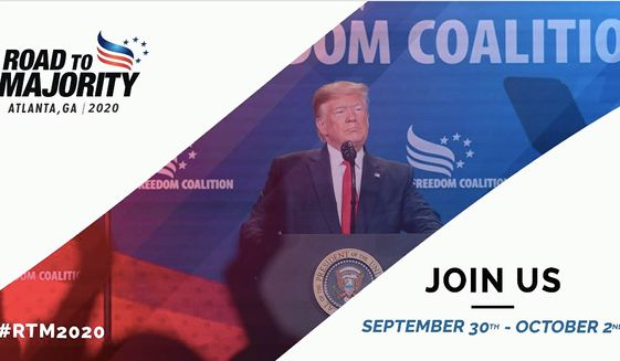 """The Faith & Freedom Coalition's annual """"Road to Opportunity"""" conference begins Wednesday in Atlanta with a live audience. (Faith & Freedom coalition)"""