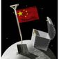 Illustration on China's space mining plans by Alexander Hunter/The WashingtonTimes