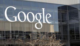 This Thursday, Jan. 3, 2013, file photo shows Google's headquarters in Mountain View, Calif. (AP Photo/Marcio Jose Sanchez, File)