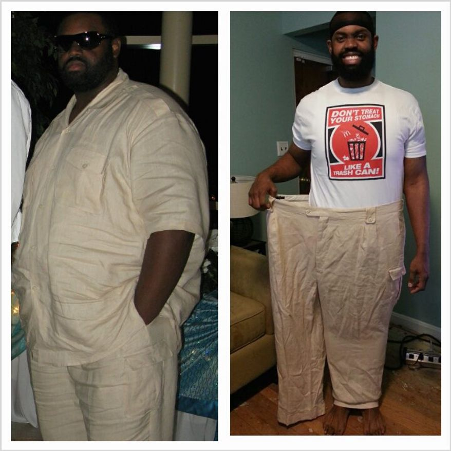 Nutirtion coach James Tate lost 200 pounds by changing his eating habits. His company Beyond W8 Loss Wellness Center has gotten a boost from shifting to a virtual platform during the pandemic. (Courtesy of James Tate)