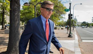 Agent William J. Barnett said the allegation that Michael Flynn, President Trump's first national security adviser, had done something inappropriate with a Russian-born scholar made no sense. (Associated Press)