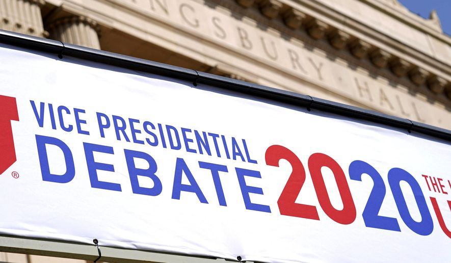 The University of Utah is ready to host the vice presidential debate between Vice President Mike Pence and Sen. Kamala D. Harris. (Associated Press)
