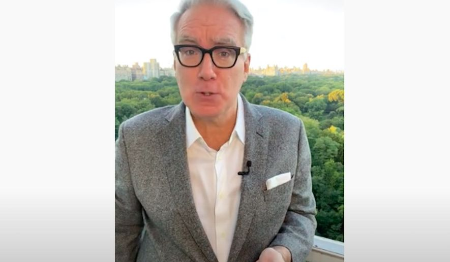 Liberal commentator Keith Olbermann announced Tuesday he is leaving ESPN for a third time so that he can focus his efforts on political commentary ahead of the November election. (Screengrab via YouTube/@Keith Olbermann)