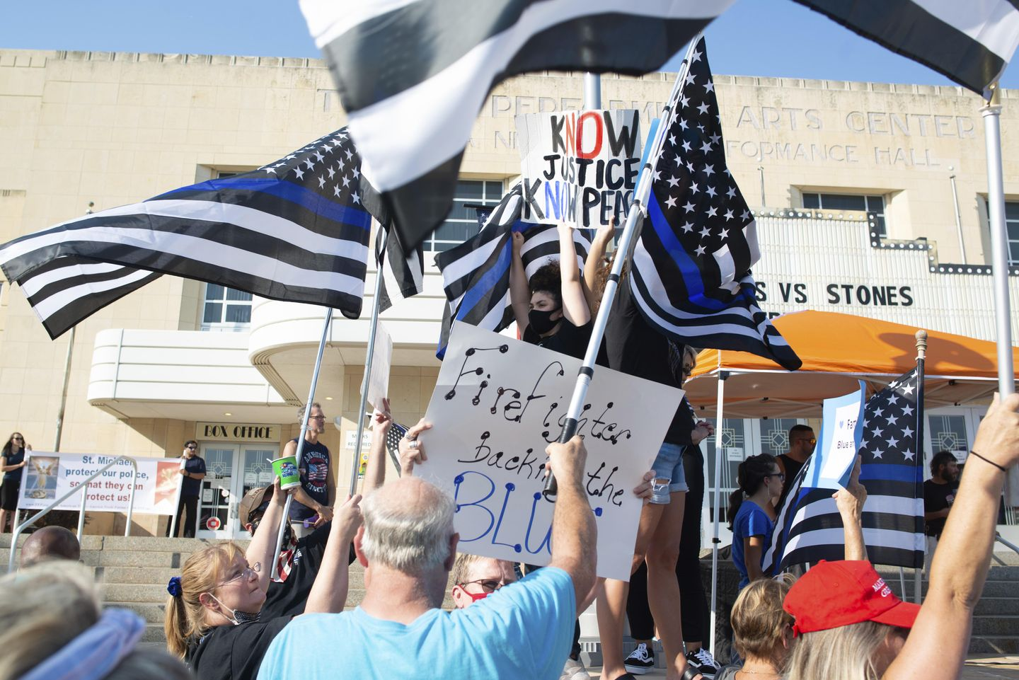 Lauren Gibson, Utah woman, charged with hate crime for stomping on 'Back the Blue' sign