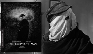 "John Hurt in ""The Elephant Man,"" now available in Blu-ray from the Criterion Collection."