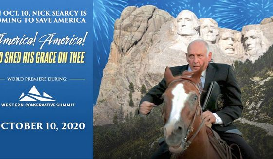"""The annual Western Conservative Summit will feature the premiere of the documentary """"America! America! God Shed His Grace on Thee."""" (Western Conservative Summit)"""