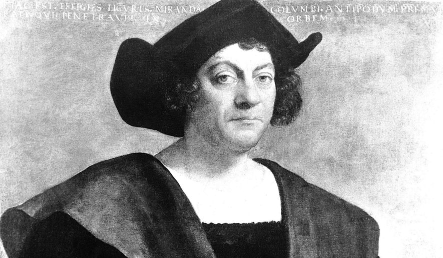 President Trump's official proclamation for Columbus Day 2020 praises Christopher Columbus and Americans with Italian heritage. (Associated press)