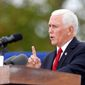 """""""These attacks on religious faith must stop and they must stop now,"""" Vice President Mike Pence said. """"Now the Senate has a job to do."""" Mr. Pence said he will predict that Ms. Barrett will be confirmed."""