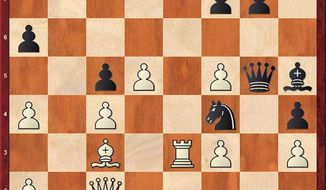 Duda-Carlsen after 29...Qg5.