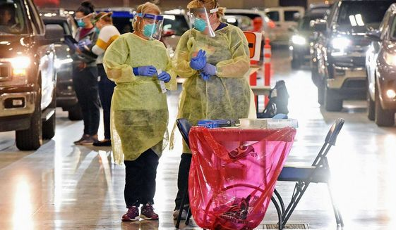 The Midwest was largely spared early in the pandemic, as the Northeast was walloped. Today it is the most worrisome region, with Iowa and Wisconsin among the top 10 states seeing the highest number of cases per 100 residents, according to a tracker. (Associated Press)