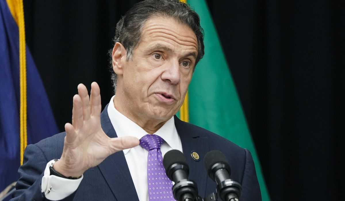 Andrew Cuomo lashes out at reporters who disrespect...