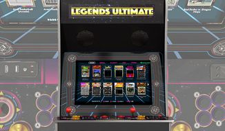AtGames' stand-alone, fully-loaded, full-sized arcade machine Legends Ultimate (Photos courtesy AtGames)
