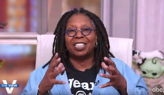 """Whoopi Goldberg of ABC's """"The View"""" discusses the """"depression"""" and anger she feels every time she listens to President Trump, Oct. 19, 2020. (Image: ABC, """"The View"""" video screenshot)"""