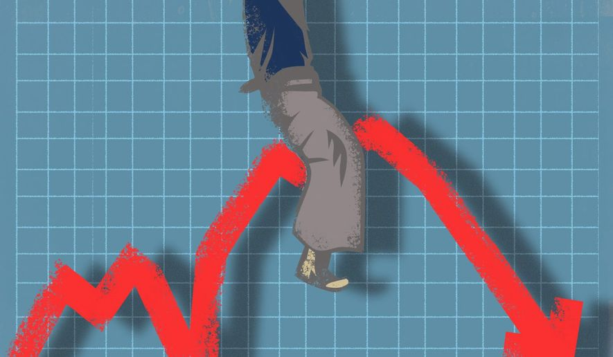 Illustration on stocks by Linas Garsys/The Washington Times