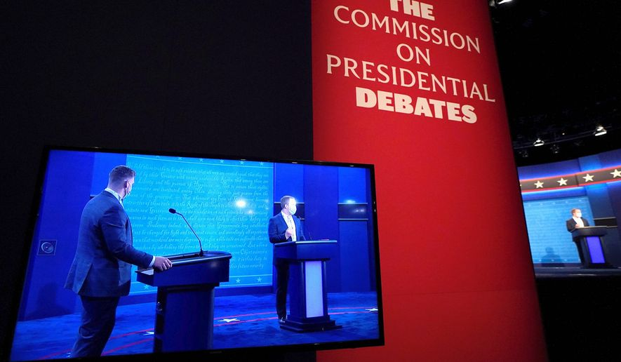 The next presidential debate between President Trump and Democratic nominee Joseph R. Biden is set for Thursday. One analyst has advice for how to conduct the debates for when 2024 rolls around. (Associated Press)