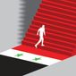 Illustration on developments in Syria by Linas Garsys/The Washington Times