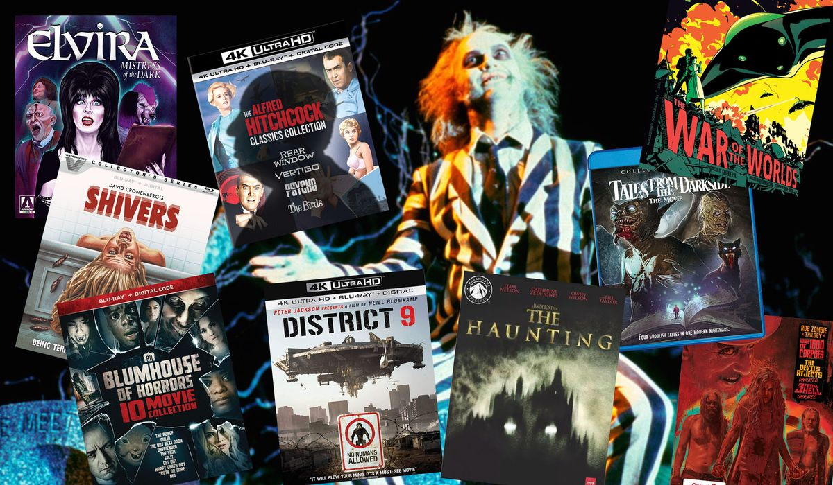 Best Blu-ray 4K UHD horror movies: 'Psycho,' 'The War of the Worlds,' 'Beetlejuice,' and more