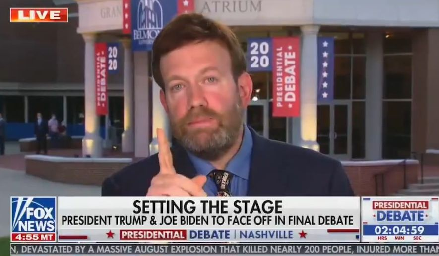 Pollster Frank Luntz talks about the 2020 presidential election, Oct. 22, 2020. (Image: Fox News video screenshot)   **FILE**