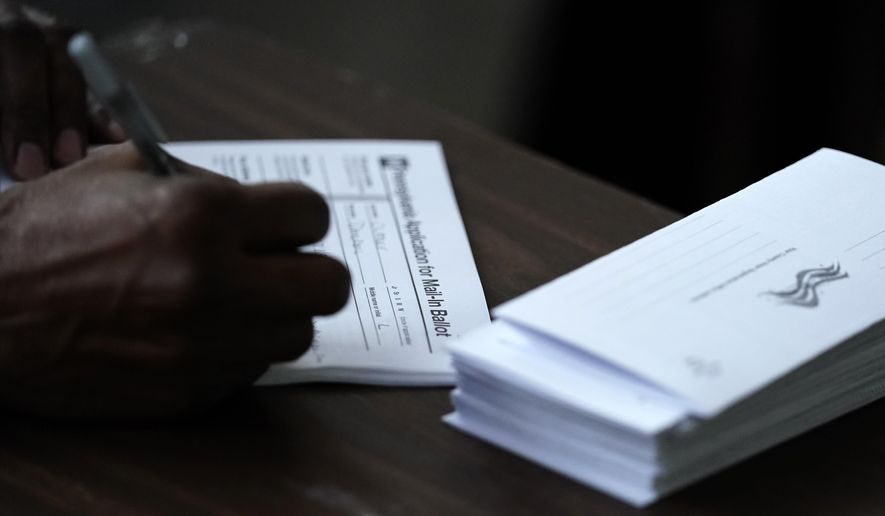 The morass of legal battles this year could confound voters. (Associated Press/File)