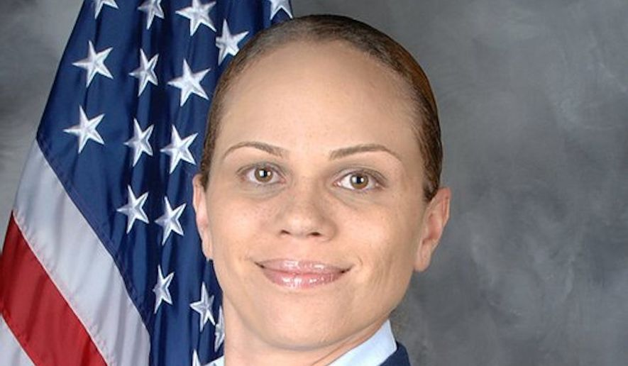 Aja Smith, a congressional candidate for District 41 in California is a force to be recokoned with. She has won endorsements from multiple law enforcement organizations and includes national defense and veterans' causes among her priority issues. And no wonder. Ms. Smith is a combat veteran herself. (Image courtesy of AJa Smith)