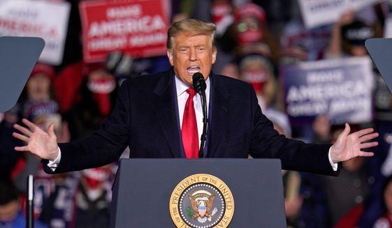 One GOP strategist says that 2020's avid Trump supporters were once more reluctant. He notes that his policies are responsible for the shift. (Associated Press)