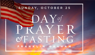 Evangelist Franklin Graham has asked the nation to pray for the nation on Sunday, and for the outcome of the election.