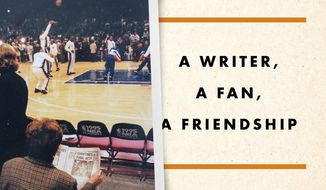 "This cover image released by Penguin Press shows ""Our Last Season: A Writer, a Fan, a Friendship"" by Harvey Araton. (Penguin Press via AP)"