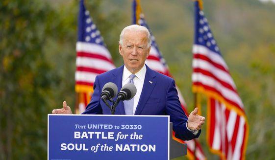 "One columnist says the U.S. returning to ""normal"" if Democrat Joseph R. Biden wins the presidential election won't happen. (Associated Press)"