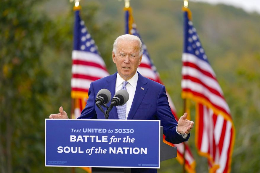 "One columnist says the U.S. returning to ""normal"" if Democrat Joseph R. Biden wins the presidential election won't happen. (Associated Press)"