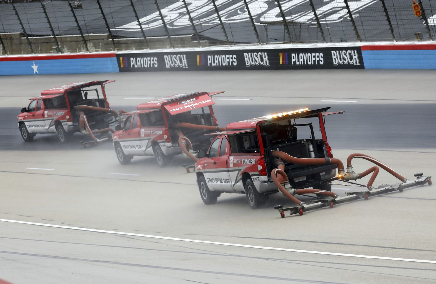 NASCAR playoffs rained out for third straight day at Texas