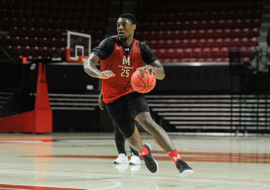 Jairus Hamilton received a waiver and will be immediately eligible for Maryland men's basketball. (Courtesy of Maryland athletics)