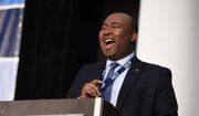 Democrat Jaime Harrison is neck and neck with incumbent Sen. Lindsey Graham for his U.S. Senate seat in South Carolina. Democratic allies are boosting Constitution Party's Bill Bledsoe to steer Republican support. (Associated Press)