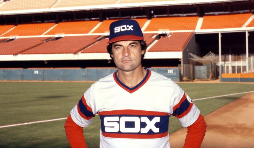 FILE - This Sept. 23, 1983 file photo shows Chicago White Sox manager Tony La Russa. La Russa, the Hall of Famer who won a World Series championship with the Oakland Athletics and two more with the St. Louis Cardinals, is returning to manage the Chicago White Sox 34 years after they fired him, the team announced Thursday, Oct. 29, 2020. (AP Photo/File)