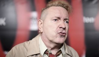"John Lydon attends the LA premiere of ""Punk"" at SIR on Monday, March. 4, 2019, in Los Angeles. (Photo by Richard Shotwell/Invision/AP) ** FILE **"