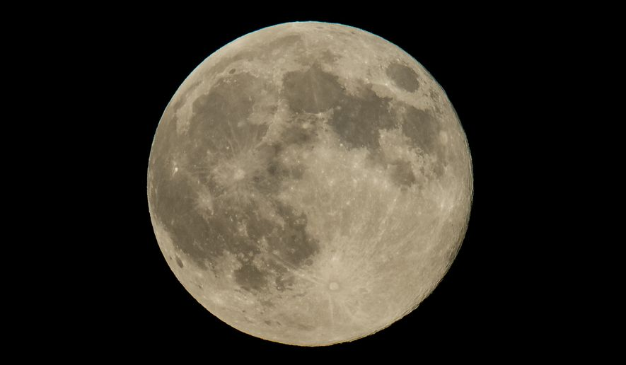 Halloween in 2020 also plays host to a Blue Moon, a Harvest Moon and the annual Daylight Savings ritual. (Image courtesy of NASA)