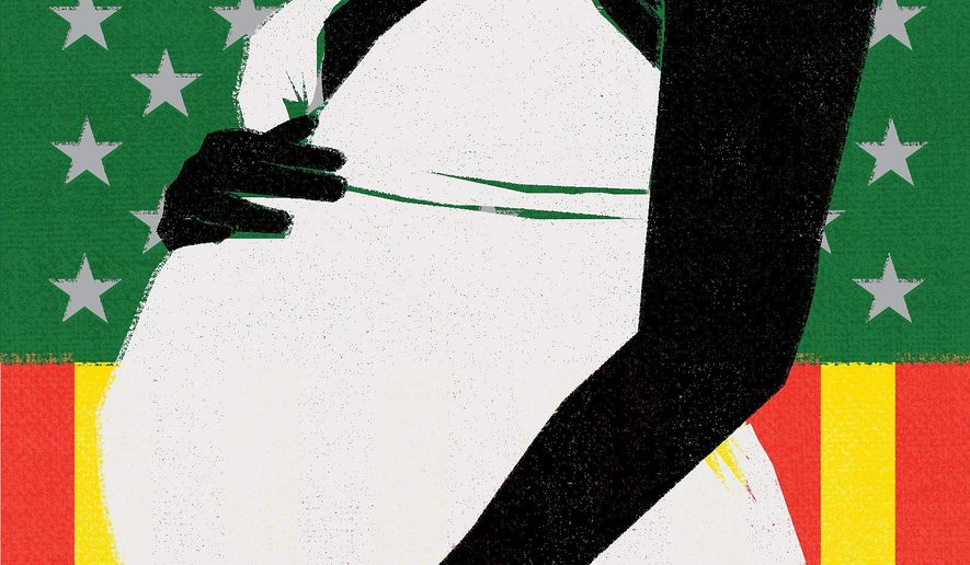 Illustration on the Equality Proclamation by Linas Garsys/The Washington Times