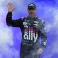 Jimmie Johnson runs his final race this weekend to finish a career with a record-tying seven Cup Series titles and 83 victories. (ASSOCIATED PRESS)