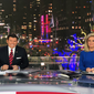Fox News anchors Bret Baier and Martha McCallum during the network's election night coverage on Tuesday. (Image from Fox News)