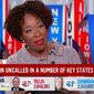 """MSNBC host Joy Reid said Wednesday that the still-undecided presidential election proves America is still fraught with racism and """"anti-Blackness."""" (Screenshot via MSNBC) ** FILE **"""