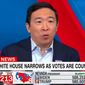 Former Democratic presidential candidate and entrepreneur Andrew Yang drew both praise and criticism Thursday after he said the party had fallen out of touch with working-class Americans. (Screenshot via CNN)