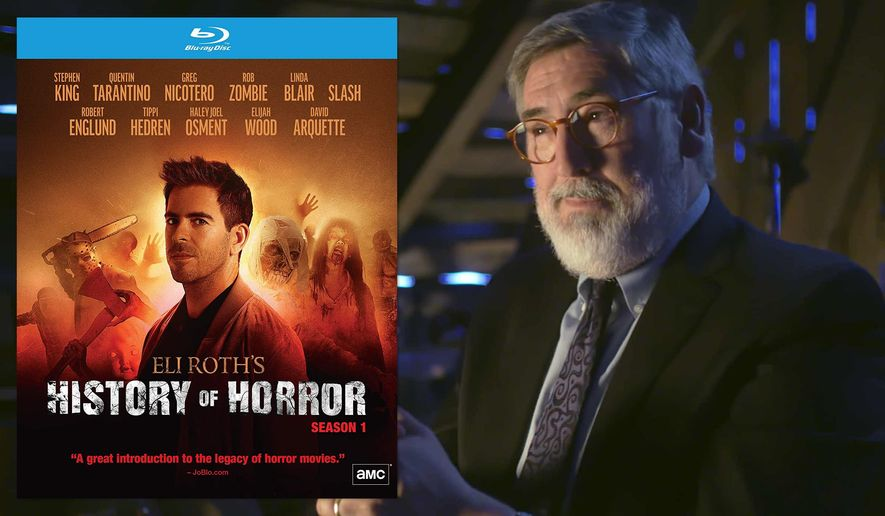 """Director John Landis appears in """"Eli Roth's History of Horror,"""" now available on Blu-ray from RLJ Entertainment."""