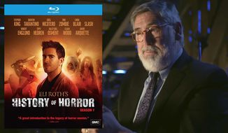 "Director John Landis appears in ""Eli Roth's History of Horror,"" now available on Blu-ray from RLJ Entertainment."