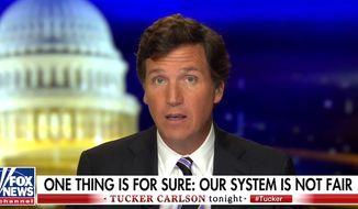 Fox News' Tucker Carlson discusses the 2020 presidential election, Nov. 9, 2020. (Image: Fox News video screenshot)