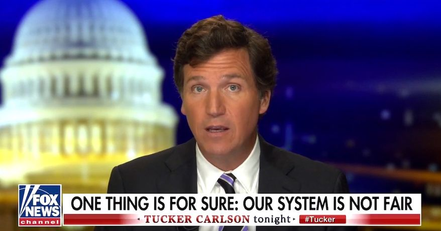 Fox News' Tucker Carlson discusses the 2020 presidential election on Nov. 9, 2020. (Image: Fox News video screenshot)  ** FILE **