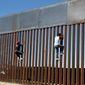 A section of the U.S. border wall, Ciudad Juarez, 2017    Associated Press photo