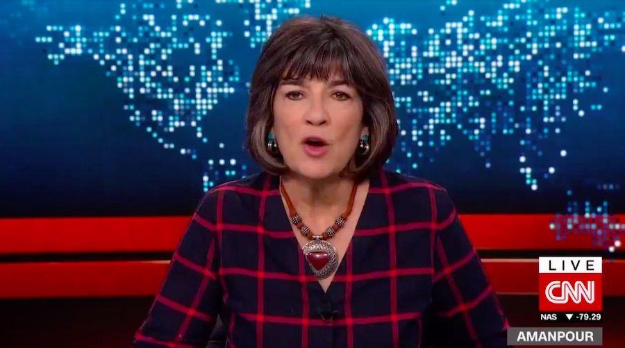 Christiane Amanpour, CNN anchor, compares Trump presidency to Kristallnacht