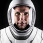 This undated photo made available by SpaceX in October 2020 shows NASA astronaut Mike Hopkins in a space suit at SpaceX headquarters in Hawthorne, Calif. (Ashish Sharma/SpaceX via AP)