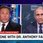 """CNN's Chris Cuomo on Thursday, Nov. 19, 2020, slammed the closures of New York City schools amid the uptick in coronavirus cases, saying the decision is being based on """"fear and not enough fact."""" (Screenshot via CNN)"""